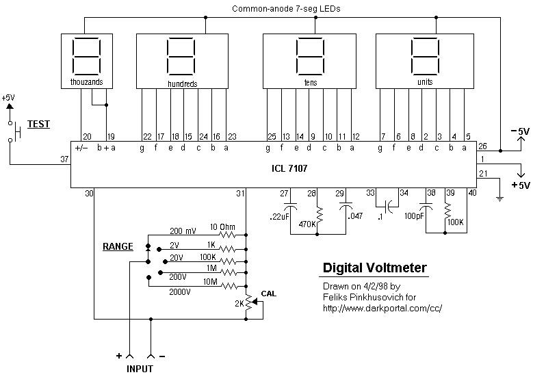 Цифровой вольтметр 220 своими руками